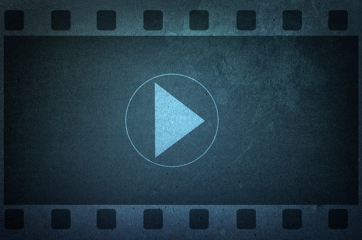 A video reel picture, representing video comments.