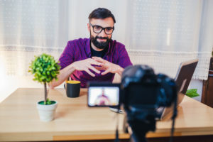 A videographer uses storytelling and visualization in his video, the two most important factors in making a customer journey video.